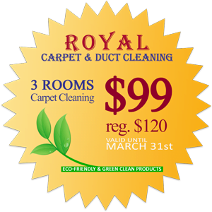 Carpet Cleaning Royal Carpet Amp Duct Cleaning 3 Rooms